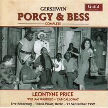 Porgy & Bess - CD Audio di George Gershwin