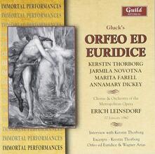 Orfeo Ed Euridice - CD Audio di Christoph Willibald Gluck