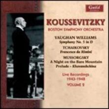 Boston Symphony Orchestra vol.2, 1943-1948 - CD Audio di Serge Koussevitzky,Boston Symphony Orchestra