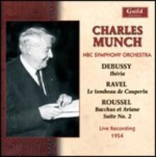 Debussy, Ravel, Roussel - CD Audio di Claude Debussy,Maurice Ravel,Albert Roussel,Charles Munch