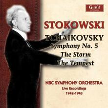 Sinfonia n.5 - the Storm - T - CD Audio di Pyotr Ilyich Tchaikovsky