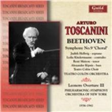 Sinfonia n.9 - CD Audio di Ludwig van Beethoven,Arturo Toscanini