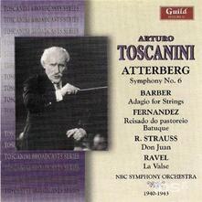 Plays Atterberg. Sym. No. 6 - CD Audio di Arturo Toscanini,Kurt Magnus Atterberg