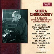 Complete Uk World - CD Audio di Shura Cherkassky