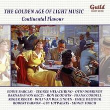 Continental Flavour. Golde - CD Audio