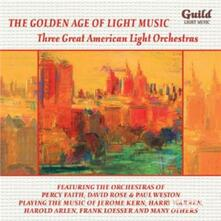 Three Great American - CD Audio