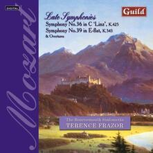 Late Symphonies No. 36, 39 - CD Audio di Wolfgang Amadeus Mozart