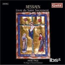 Livre Du Saint Sacrement - CD Audio di Olivier Messiaen