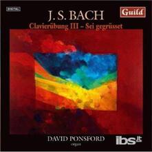 Clavierubung Iii - CD Audio di Johann Sebastian Bach
