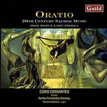 Oratio - CD Audio di Coro Cervantes
