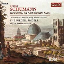 Jerusalem Du Hochgebaute Stadt - CD Audio di Georg Schumann