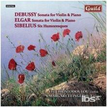 Sonate fur Violine & Klav - CD Audio di Claude Debussy