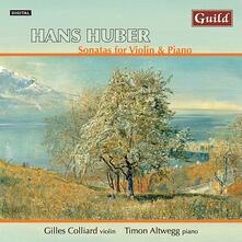 Sonate per Violino - CD Audio di Hans Huber