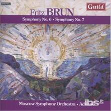 Sinfonie n.6, n.7 - CD Audio di Fritz Brun