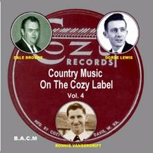 Country Music on the Cozy Label vol.4 - CD Audio
