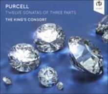 Twelve Sonatas of Three Parts - CD Audio di Henry Purcell