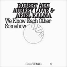 We Know Each Other Somehow - Vinile LP + DVD di Ariel Kalma,Robert Aiki Aubrey Lowe
