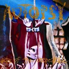 Acts of the Unspeakable - CD Audio di Autopsy