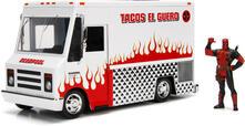 Marvel Deadpool & Taco Truck Die-Cast Car
