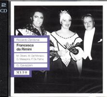 Francesca da Rimini - CD Audio di Riccardo Zandonai