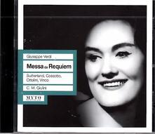 Messa da Requiem - CD Audio di Giuseppe Verdi