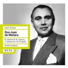 Don Juan de Manara - CD Audio di Henri Tomasi