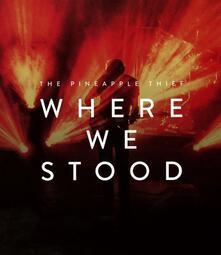 Where We Stood (Blu-ray) - Blu-ray