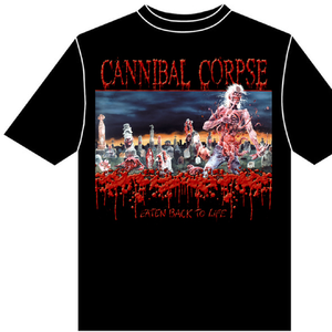 Idee regalo T-shirt unisex Cannibal Corpse. Eaten Back To Life Plastic Head