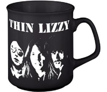 Idee regalo Tazza Thin Lizzy. Band Shot Plastic Head
