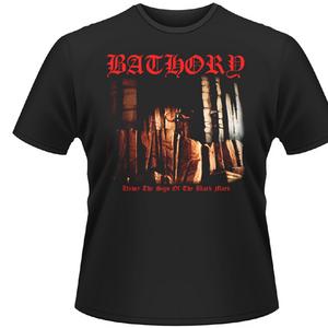 Idee regalo T-shirt unisex Bathory. Under the Sign Plastic Head