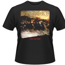 T-shirt unisex Bathory. Blood Fire Death