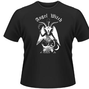 Idee regalo T-shirt unisex Angel Witch. Baphomet Plastic Head
