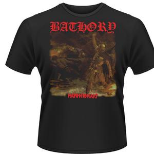 Idee regalo T-shirt unisex Bathory. Hammerheart Plastic Head