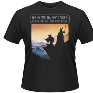 T-Shirt Hawkwind. Masters of the Universe