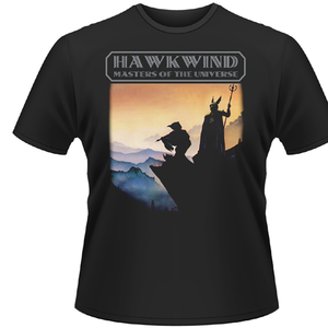 Idee regalo T-Shirt Hawkwind. Masters of the Universe Plastic Head