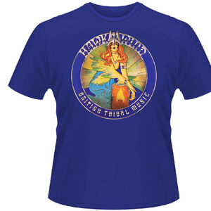 Idee regalo T-Shirt Hawkwind. British Tribal Music Plastic Head