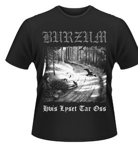 Idee regalo T-shirt unisex Burzum. Hvis Lyset Tar Oss Plastic Head