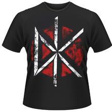 T-shirt unisex Dead Kennedys. Distressed Dk Logo