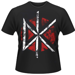 Idee regalo T-shirt unisex Dead Kennedys. Distressed Dk Logo Plastic Head