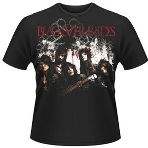 Idee regalo T-shirt unisex Black Veil Brides. Grime Plastic Head