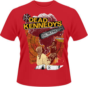 T-Shirt uomo Dead Kennedys. Kill the Poor