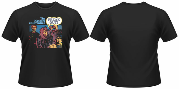 Idee regalo T-Shirt unisex Frank Zappa. Freak Out Plastic Head