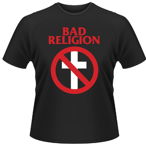 Idee regalo T-shirt unisex Bad Religion. Cross Buster Plastic Head
