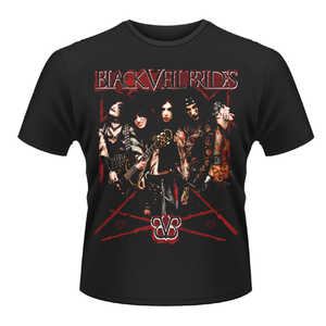Idee regalo T-shirt unisex Black Veil Brides. Do It Plastic Head