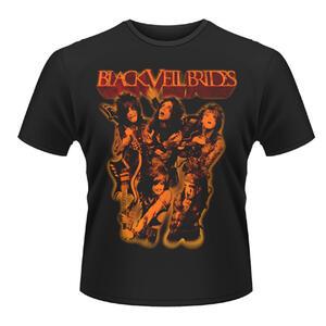 T-shirt unisex Black Veil Brides. Shhh