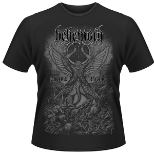 Idee regalo T-shirt unisex Behemoth. Phoenix Rising Plastic Head