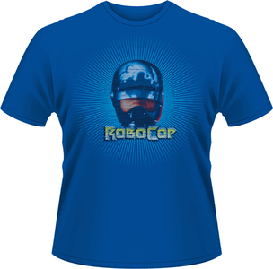 Idee regalo T-Shirt uomo Robocop. Solar Plastic Head