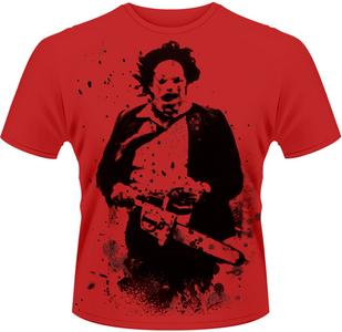 Idee regalo T-Shirt uomo Texas Chainsaw Massacre. Leatherface 2 Plastic Head