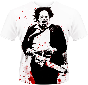 Idee regalo T-Shirt uomo Texas Chainsaw Massacre Leatherface Plastic Head
