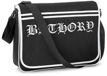 Bathory. Logo Retro Messenger Bag